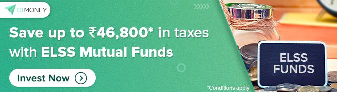 Tax Saving Mutual Fund Banner