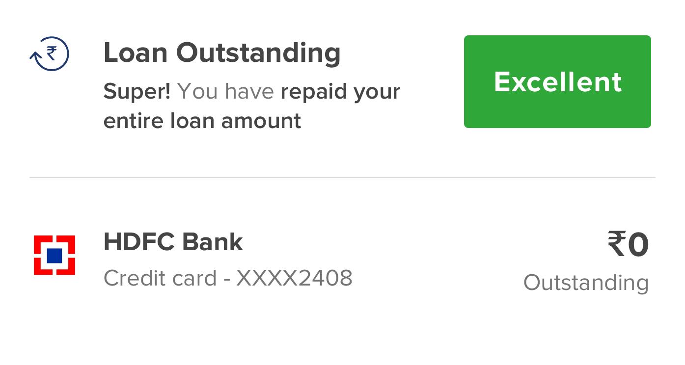 Loan Outstanding