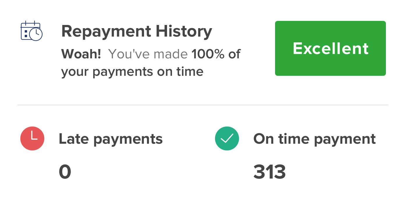 Repayment History